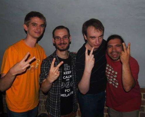 od lewej strony: Matuszczak, Jander, Yarrow, Hsiale